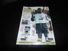 Derby County v Everton, 1996/97